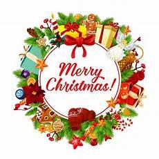 christmas tag and banner of winter holiday season stock vector illustration of poster santa