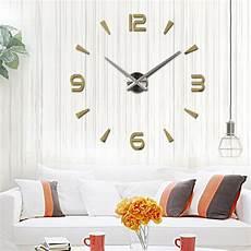 Wall Clock Clock Sticker Decor Home by New Home Decor Large Mirror Fashion Modern Quartz