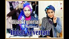 Model Jilbab Segi Empat Inspired By Indah Nevertari Rising
