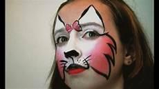 Cat Painting Tutorial Pink Cat Makeup