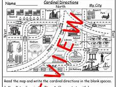 directions worksheet tes 11848 geography map skill cardinal directions worksheets teaching resources