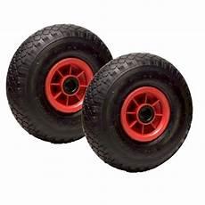 roue gonflable pour chariot lot de 2 roue gonflable 260 x 85 axe 25 mm 3 00 4 avec