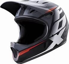 fox rage mountain bike helmet black white