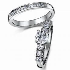 titanium bridal cz engagement eternity ring bridal