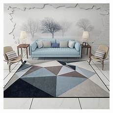 modern carpets for living room rectangle geometric area