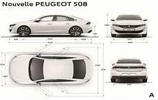 Peugeot 508 Dimensions Ext 233 Rieures Et Int 233 Rieures