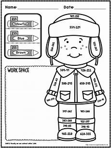 winter worksheet for 5th grade 20179 winter no prep math 3rd grade math pages second grade math math