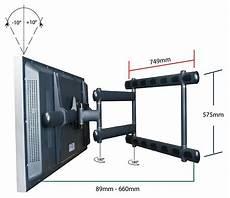 swing tv premier mounts am300 black tv wall brackets