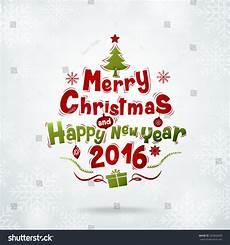 merry christmas happy new year 2016 stock vector 325843049