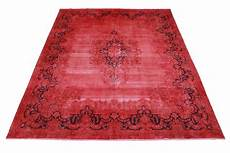 vintage teppich rosa rot in 380x290 1001 3590 carpetido de