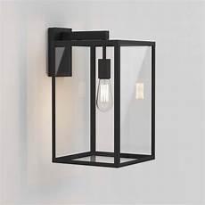 astro lighting 1354007 box 450 black exterior wall light 8504