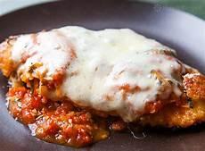 cheesy chicken parmesan recipe simplyrecipes com