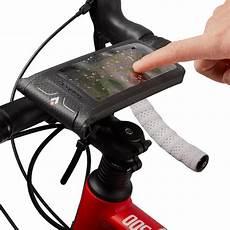 smartphone halterung fahrrad smartphone halterung fahrrad wetterfest hapo g decathlon