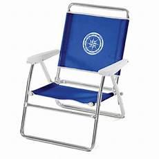 chaise de plage pliante en aluminium 05176 bleu