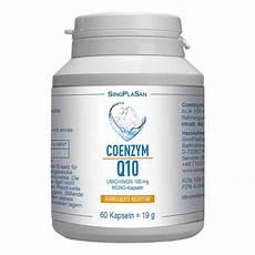 coenzym q10 ubichinon mono kapseln 100 mg 60 stk