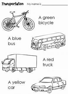 transportation vehicles coloring pages 16403 means of transport transporte preescolar actividades de transporte ingles para preescolar