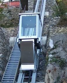 ascensore a cremagliera ascensore inclinato come funziona