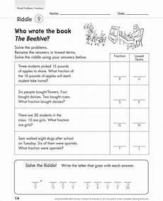 word problems free printable fraction word problem worksheets printable worksheets