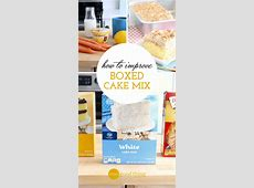 how to improve a box cake mix
