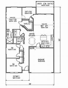 1500 sq ft bungalow house plans ranch style house plan 4 beds 2 baths 1500 sq ft plan