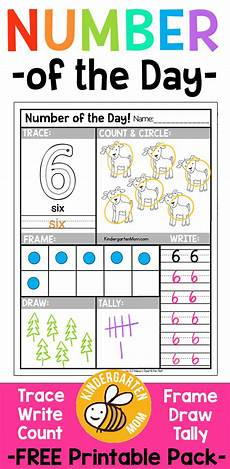 free s day worksheets for kindergarten 20457 free number of the day worksheets free printable number of the day worksheets for preschool