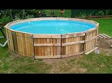 Swimmingpool Aus Paletten - diy build a pool made from pallets important tips and