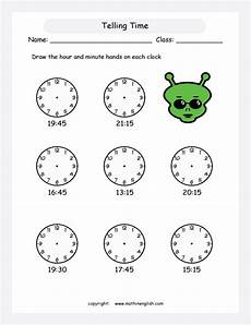 time worksheets grade 4 2887 telling time printable grade 4 math worksheet