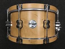 wood hoop snare pdp ltd classic wood hoop 7x14 snare drum reverb