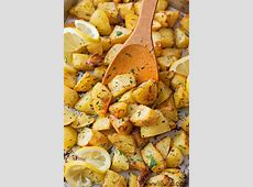 roasted herb new potatoes image