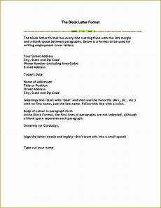6 business letter modified block format template