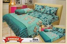 Harga Sprei Merk Santika Deluxe harga bed cover jual murah harga bed cover cassamia