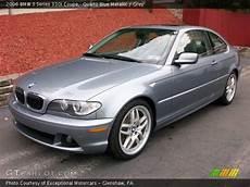 Quartz Blue Metallic 2006 Bmw 3 Series 330i Coupe Grey