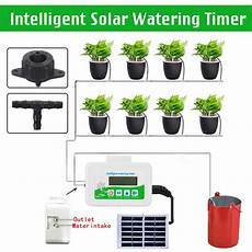 Bakeey Garden Solar Watering Automatic Watering diy intelligent garden automatic watering device solar