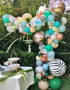 ballonbogen und ballongirlande selber machen schnelle