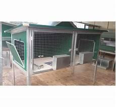 gabbie x polli gabbia per riproduttori conigli da esterno a due box