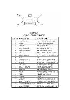 wiring diagram for the stereo part jwm60a etrailer com