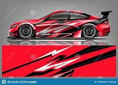Car Decal Wrap Design Vector Graphic Abstract Stripe