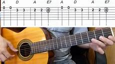 how to play song on guitar abc song alphabet song easy guitar melody tutorial tab guitar lesson