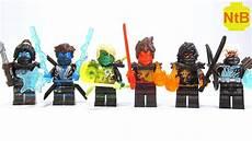 lego ninjago ultimate evil ninjas custom minifigures