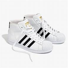 madewell adidas superstar pro model high top sneakers