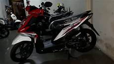 Striping Beat 2018 Modifikasi by Modifikasi Motor Beat 2019 Warna Hitam Mobiliobaru