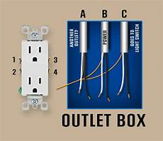 electrical wall outlet with three sets of wires home improvement stack exchange