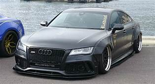 Audi A7 Remodeled With Wider Body Kits  Drivers Magazine