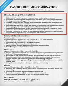 resume sles qualification highlights how to write a