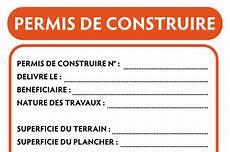 panneau affichage permis de construire permis de construire