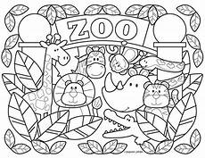 animal coloring page for toddlers 17335 zoo coloring pages printable free by stephen joseph gifts szablony edukacja materiał