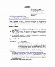 b sc computer science fresher resume computer science resume template for it workers as the