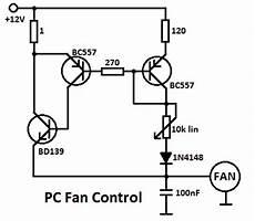processor fan controller circuit