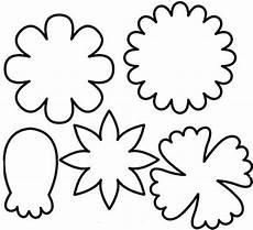 Early Play Templates Flower Templates Free