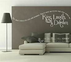 wall sticker decal quotes quot laugh quot wall quote sticker removable vinyl